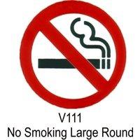 Outdoor Grade Vinyl Sticker - No Smoking Symbol- CASTLE PROMOTIONS- V111