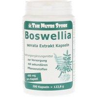 Boswellia 400 mg Extrakt vegetarische Ka 200 St
