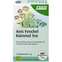 ANIS Fenchel Kümmel Tee AFeKü Bio Salus 15 St
