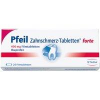 Pfeil Zahnschmerz Filmtabletten forte 20 St