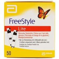 Freestyle Lite Teststreifen ohne Codiere 50 St