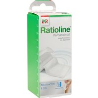 Ratioline Acute Verbandmull 10 cmx1 m ge 1 St