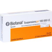 Biofanal Suspensionsgel Tube 50 g