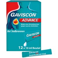 Gaviscon Advance Pfefferminz Suspension 120 ml