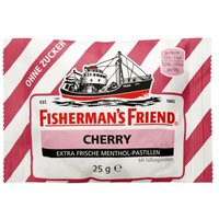 Fishermans Friend Cherry ohne Zucker Pas 25 g