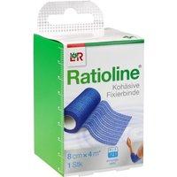 Ratioline Acute Fixierbinde kohäsiv 8 cm 1 St