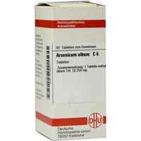 Arsenicum Album C 6 Tabletten 80 St
