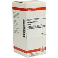 Strophanthus D 6 Tabletten 200 St