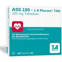 ASS 100-1a Pharma TAH Tabletten 100 St
