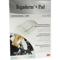Tegaderm 3M Plus Pad 9x10 cm Fertigverb. 5 St