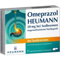 Omeprazol Heumann 20 mg b.Sodbr.magensaf 7 St