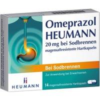Omeprazol Heumann 20 mg b.Sodbr.magensaf 14 St