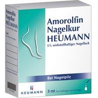 Amorolfin Nagelkur Heumann 5% wst.halt.N 3 ml