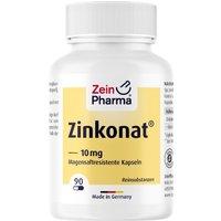 Zinkonat Kapseln 10 mg Zinkgluconat 90 St