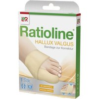 Ratioline Hallux Valgus Bandage zur Korr 1 St