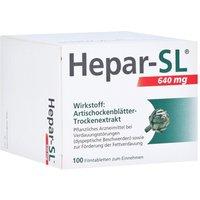 Hepar-sl 640 mg Filmtabletten 100 St