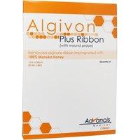 Algivon Plus Ribbon 1x20 cm Honigalginat 5 St