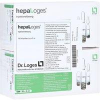 HEPA Loges Injektionslösung Ampullen 200 ml