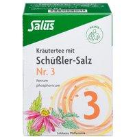 Kräutertee mit Schüssler-salz Nr.3 Salus 15 St