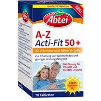 Abtei A-Z Acti-fit 50+ Tabletten 70 St