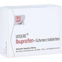Unsere Ibuprofen-schmerztabletten 30 St