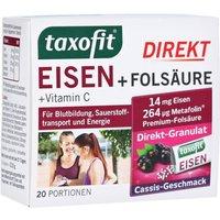 Taxofit Eisen+folsäure Direkt-granulat 20 St
