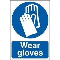 Notice Wear Gloves