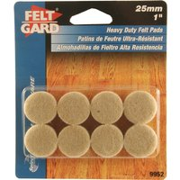 Round Floor Protection Felt Pads
