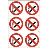 Notice No Smoking (100x100mm)