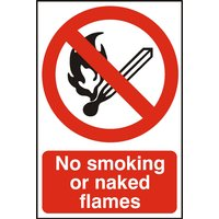 Notice No Smoking Or Naked Flames