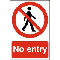 Notice No Entry