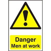 Notice Danger Men At Work