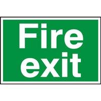 Notice Fire Exit