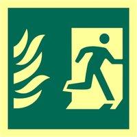 Man Running Right Glow In The Dark