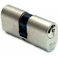 Iseo Oval Profile Double Key Cylinder Nickel 30x30mm