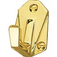 Art Deco Design Wardrobe Hook 55mm