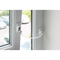 Penkid White Window Restrictor Cable