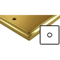 Mayfair Dual Style Brass Electrical 1 Gang 2 Way Dimmer Light Switch