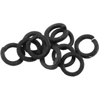 Pack of 100 Square Section Spring Washer 1/8in Self Colour