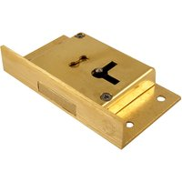 Cut Cabinet Lock 4 Lever 76mm Left Hand