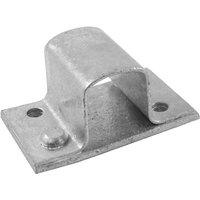 16mm Square Box Bolt Staple Zinc Plated