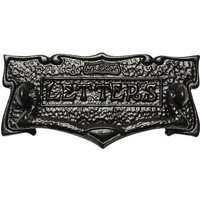 Rawnsley Traditional Design Black Letter Box 205mm T541