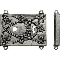 Rawnsley Traditional Design Black Iron Rim Lock Set RLC451C