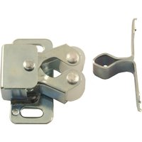 Zinc Plated Double Roller Cupboard Catch