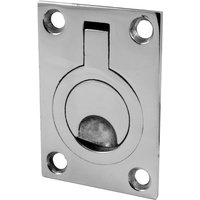 Bright Stainless Steel Ring Pull Handle 44x62mm