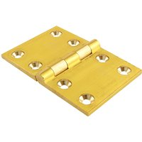 Solid Brass Back Flap Hinge 51x76mm