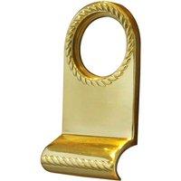 Georgian Brass Front Door Pull