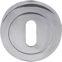 Bright Chrome Standard Key Escutcheon 50mm