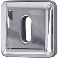 Bright Chrome Square Escutcheon 50mm