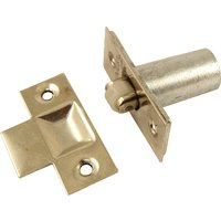 Mortice Fixing Adjustable Roller Catch Zinc Plated
